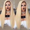 billige Syntetiske blondeparykker-Remy Menneskehår Blonde Front Paryk Rihanna stil Brasiliansk hår Lige Nuance Paryk 150% Hår Densitet Nuance Dame Lang Blondeparykker af menneskehår beikashang