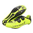 preiswerte Fahrradschuhe-SIDEBIKE Rennradschuhe Karbon Rutschfest, tragbar Radsport Gelb Herrn