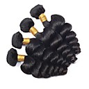 cheap Synthetic Capless Wigs-4 Bundles Eurasian Hair Wavy Human Hair Human Hair Extensions Natural Color Human Hair Weaves Extention / Hot Sale Human Hair Extensions All