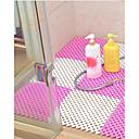 olcso Lábtörlők és szőnyegek-1db Klasszikus / Modern Fürdőszoba gyékényszőnyegek Műanyagok / PVC Mértani Négyzet Fürdőszoba Non-Slip
