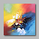 ieftine Picturi în Ulei-Hang-pictate pictură în ulei Pictat manual - Abstract Contemporan / Modern Includeți cadru interior / Stretched Canvas