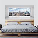 abordables Adhesivos de Pared-Calcomanías Decorativas de Pared - Calcomanías de Aviones para Pared / Calcomanías 3D para Pared Abstracto / Paisaje Sala de estar / Dormitorio