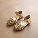 olcso Kislány cipők-Lány Cipő PU Tavaszi nyár Kényelmes Szandálok Csokor / Flitter mert Arany / Ezüst / Rózsaszín
