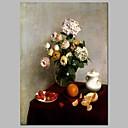 ieftine Imprimeuri-Imprimeu Imprimeuri pânză întinse - Natură moartă Floral / Botanic Vintage