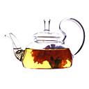 זול הלבשה תחתונה וגרביים לבנות-זכוכית Heatproof 1pc קנקן תה