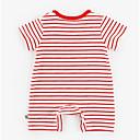 ieftine Set Îmbrăcăminte Băieți Bebeluși-Bebelus Unisex De Bază Dungi Mânecă scurtă Bumbac O - piesă Albastru piscină 90