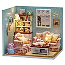 cheap Doll Houses-Dollhouse Creative House Pieces Teenager Toy Gift
