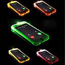 זול מגנים לטלפון & מגני מסך-מגן עבור Apple iPhone X / iPhone 8 Plus אורLEDמהבהב כיסוי אחורי אחיד רך TPU ל iPhone X / iPhone 8 Plus / iPhone 8