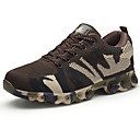 cheap Men's Athletic Shoes-Men's Tulle Summer / Fall Comfort Athletic Shoes Running Shoes Gray / Coffee / Green
