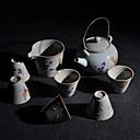 hesapli Fırın Gereçleri-8pcs Porselen Poşet Çay Setleri Isıya dayanıklı ,  12.5*10*13;5.8*5.8*5;9.5*9.5*6.8cm