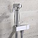 billige Køkkenhaner-Moderne Vægmonteret Keramik Ventil Et Hul Enkelt håndtag Et Hul Krom, Håndvasken vandhane