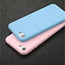 זול מגנים לטלפון & מגני מסך-מגן עבור Apple iPhone X / iPhone 6 אולטרה דק כיסוי אחורי אחיד רך TPU ל iPhone X / iPhone 8 Plus / iPhone 8