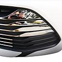 baratos Kits & Conjuntos para Unhas-19pçs Carro Decoração da grade dianteira do carro Negócio Tipo de pasta For Parte inferior da grade dianteira For Toyota Vios 2017