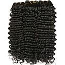 baratos Tranças de Cabelo-4 pacotes Cabelo Peruviano Ondulado Cabelo Humano Extensões de Cabelo Natural Tramas de cabelo humano extensão / Venda imperdível Côr Natural Extensões de cabelo humano Todos