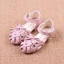 halpa Lasten sandaalit-Tyttöjen Tekonahka Sandaalit Taapero (9m-4ys) / Pikkulapset (4-7 vuotta) / Suuret lapset (7 vuotta +) Comfort / Kengät kukkaistytölle Sininen / Pinkki / Beesi Kesä
