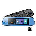 billige Bil-DVR-E06 1080p Nattsyn Bil DVR 140 grader Bred vinkel 7.85 tommers IPS Dash Cam med GPS / G-Sensor / Loop-opptak Bilopptaker
