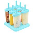 billige Bakeformer-Bakeware verktøy ABS + PC Kreativ Kjøkken Gadget / GDS Is / kjærlighet på pinne Dessertverktøy 1pc