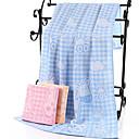 billige Ringer-Overlegen kvalitet Badehåndkle, Pledd / Tern / Tegneserie Polyester / Bomull 1 pcs