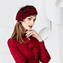 preiswerte Wand-Sticker-Wolle Kopfbedeckung mit Schleife 1pc Hochzeit / Party / Abend Kopfschmuck