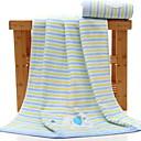 cheap Wash Cloth-Superior Quality Bath Towel / Wash Cloth, Striped Poly / Cotton / 100% Cotton 1 pcs