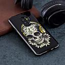 ieftine Cazuri telefon & Protectoare Ecran-Maska Pentru Samsung Galaxy S9 Plus / S9 Model Capac Spate Cranii Greu PC pentru S9 / S9 Plus / S8 Plus