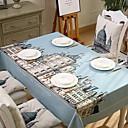 halpa Pöytätabletit-Nykyaikainen PVC Neliö Table Cloths Patterned Pöytäkoristeet 1 pcs