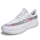 cheap Women's Sneakers-Women's Shoes Knit Summer Comfort Sneakers Flat Heel White / Black
