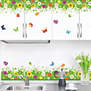 cheap Wall Stickers-Decorative Wall Stickers - Plane Wall Stickers Animals / Floral / Botanical Living Room / Bedroom