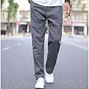 billige Herre Ringe-Herre Sporty Chinos / Joggingbukser Bukser Ensfarvet