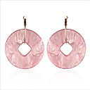 cheap Earrings-Women's Drop Earrings / Hoop Earrings - European, Fashion White / Light Pink For Wedding / Daily
