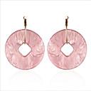 olcso Divat fülbevalók-Női Függők / Francia kapcsos fülbevalók - Európai, Divat Fehér / Világos rózsaszín Kompatibilitás Esküvő / Napi