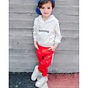 tanie Spodnie dla chłopców-Brzdąc Dla chłopców Moda miejska Jendolity kolor Spodnie