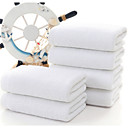 billige Vaskehåndklæ-Overlegen kvalitet Vaskehåndklæ, Ensfarget Polyester / Bomull 1 pcs
