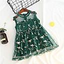 ieftine Costum Baie Fete-Copil Fete Floral Fără manșon Rochie