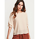 cheap Men's Sneakers-Women's Going out Lantern Sleeve Blouse - Solid Colored / Fall / Winter