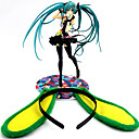 olcso Rajzfilmfigurák-Anime Akciófigurák Ihlette Vocaloid Hatsune Miku PVC 21cm CM Modell játékok Doll Toy