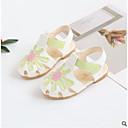 olcso Női alacsony cipők-Lány Cipő Bőrutánzat Nyár Kényelmes Szandálok mert Kisgyermek Fehér / Piros / Kék