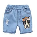 ieftine Pantaloni Fete & Leginși-Copii / Copil Unisex Imprimeu Blugi