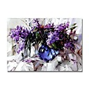 ieftine Picturi cu Peisaje-Hang-pictate pictură în ulei Pictat manual - Abstract / Floral / Botanic Contemporan / Modern pânză