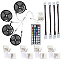 cheap LED Strip Lights-LED Strip Light Not-Waterproof 20M RGB SMD 5050 600LEDs Rope Lighting Color Changing Full Kit with 44-keys IR Remote Controller LED Lighting Strips for Home Kitchen Indoor Decoration