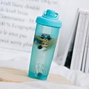 זול בקבוקי מים-drinkware פלסטיק בקבוק שייקר / כוס שטיפה בידוד 1pcs