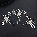 cheap Party Headpieces-Pearl / Alloy Head Chain with Rhinestone 1 Piece Wedding / Special Occasion Headpiece