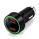 billige Bil-lader-Bil Bil USB lader Socket 2 USB-porter for 12 V