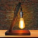 baratos Luminárias para Escrivaninha-Moderno / Contemporâneo Novo Design / Criativo Luminária de Escrivaninha Para Sala de Estar / Quarto de Estudo / Escritório Madeira / Bambu 220V Vermelho