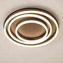 cheap Ceiling Lights-UMEI™ Circular Flush Mount Ambient Light - New Design, Creative, Dimmable, 110-120V / 220-240V, Warm White / White, LED Light Source