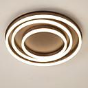 tanie Mocowanie przysufitowe-UMEI™ Okrągły Podtynkowy Światło rozproszone - Twórczy, Przygaszanie, Nowy design, 110-120V / 220-240V, Ciepły biały / Biały, Źródło światła LED w zestawie / 15/10 ㎡ / LED zintegrowany / FCC