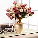 זול פרחים מלאכותיים-פרחים מלאכותיים 0 ענף קלאסי מסורתי / קלסי / ארופאי אגרטל פרחים לשולחן