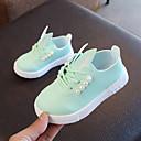 povoljno Cipele za djevojčice-Djevojčice Cipele PU Proljeće ljeto Udobne cipele Sneakers Hodanje Umjetni biser za Djeca Obala / Pink / Svijetlo zelena
