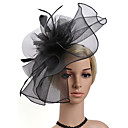 cheap Party Headpieces-Women's Fashion / Elegant Hair Clip / Fascinator - Solid Colored Flower / Mesh