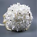 cheap Wedding Flowers-Wedding Flowers Bouquets Wedding Silk Like Satin / Beaded / Foam 11-20 cm